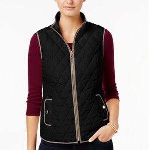NWT Charter Club Quilted Vest